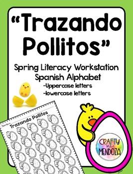 Trazando Pollitos - Spring Letter Tracing Center