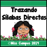 Silabas Directas - Tracing Spanish Initial Syllables