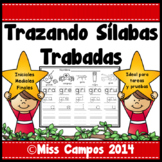 Silabas Trabadas - Tracing Spanish Syllables with Blends