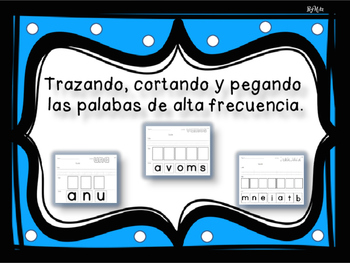 Trazando las Palabras de Alta Frecuencia/ Spanish High Frequency Words