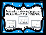 Trazando las Palabras de Alta Frecuencia/ Spanish High Fre