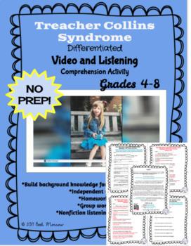 Treacher Collins Syndrome/WONDER Background NO PREP Video Comprehension