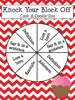 Treasues Unit 4 Week 1 Cook A Doodle Doo Vocab and Spelling Activities