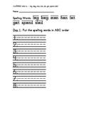 Treasure 1st Grade Spelling Practice Page Unit 2 Week2