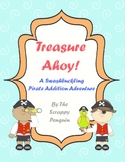 Treasure Ahoy! Pirate Addition Adventure Board Game (Sums to 20)