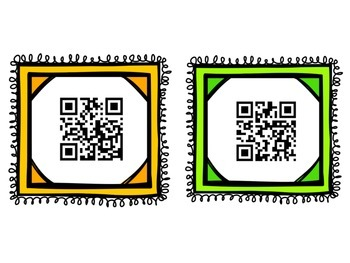 Treasure Box QR Codes