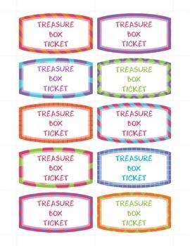 Treasure Box Ticket