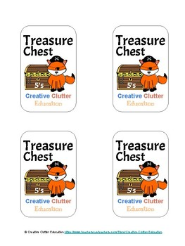 Treasure Chest: A Skip Counting Game (Set E: Count by 5's)
