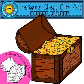 Treasure Chest Clip Art - Inside the Box