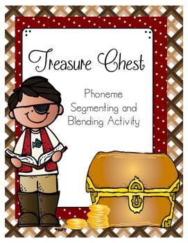 Treasure Chest Phoneme Segmenting and Blending (for RtI)