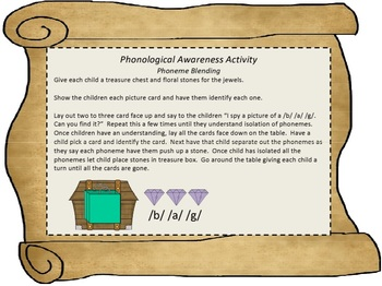 Treasure Chest Phonological Awareness Activities
