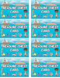 Treasure Chest Reward Card