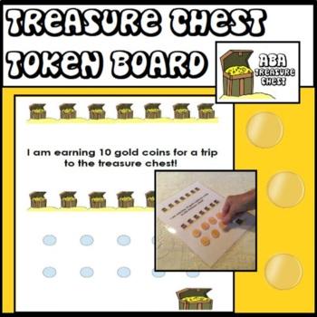 Treasure Chest Token Board ABA Autism