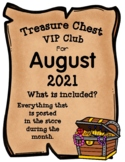 Treasure Chest VIP Club for August - Entire Month Growing Bundle