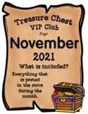 Treasure Chest VIP Club for November - Entire Month Growin