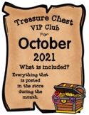 Treasure Chest VIP Club for October - Entire Month Growing Bundle