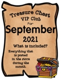 Treasure Chest VIP Club for September - Entire Month Growi