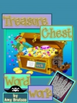 Treasure Chest Word Family Word Work Literacy Center