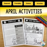 April Activities Bundle: Easter, Poetry Month, Rabbits, & Types of Trees