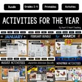 Treasure Each Month Ultimate Bundle for the School Year (10 Packs)