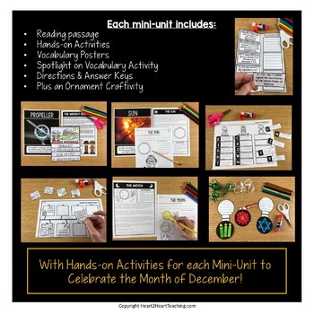 Treasure Each Month December Activities: Wright Brothers, Christmas, Sun & Moon