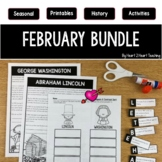 Treasure Each Month February Activities: Dental Health, Pr