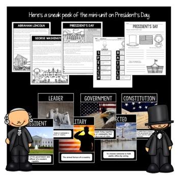 Treasure Each Month February Activities: Dental Health, Presidents Day, Black HX