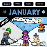 Treasure Each Month January: Let it Snow Freebie!