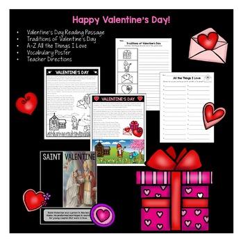 Treasure Each Month February: Happy Valentine's Day FREEBIE!