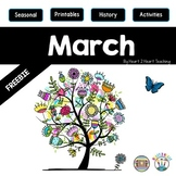 Treasure Each Month March: Butterfly Life Cycle FREEBIE!