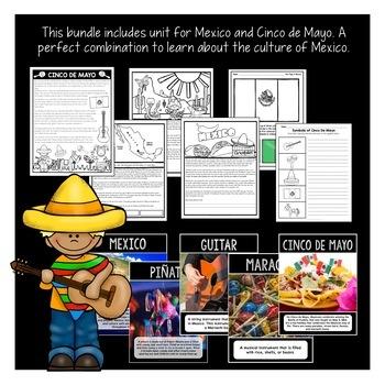 Treasure Each Month May Activities: Cinco de Mayo, Mexico, Frogs, Habitats