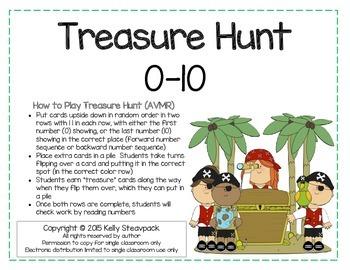 Treasure Hunt 0-10