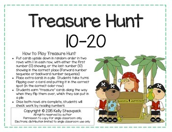Treasure Hunt 10-20