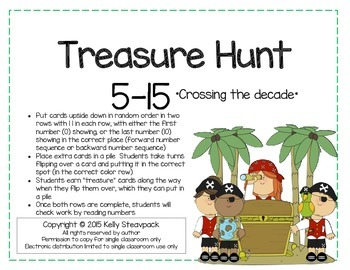 Treasure Hunt 5-15