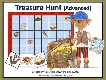 Treasure Hunt (Advanced): A Math Game