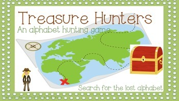 Treasure Hunt: Alphabet Edition