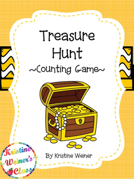 Treasure Hunt! {An Counting Game}