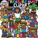 Treasure Hunt Clipart {Pirate Clipart}