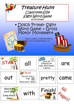 Sight Word Game-Classroom Size Primer
