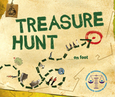 Treasure Hunt!!! ESL end of week activity fun prepositions