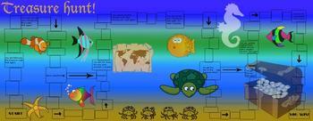 Treasure Hunt Educational Learning Board Game Set for enti