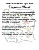 Treasure Hunt Flashcard Games