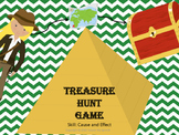 Cause and effect - Treasure Hunt GAME