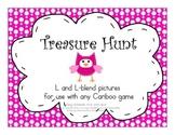 Treasure Hunt Game for Articulation - L and L-Blends