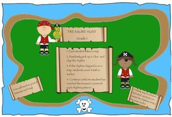 Treasure Hunt: Grade 1