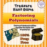 Treasure Hunt Interactive Game Algebra Factoring Polynomia
