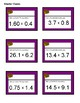 Treasure Hunt - Multiply Decimals (Medium: Decimal X Decimal) Task Cards