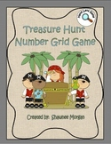 Treasure Hunt Number Grid Game - Hand Lens Activity