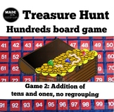 Treasure Hunt - ADDITION (tens and ones) and number knowle