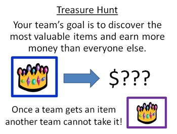 Treasure Hunt Review Game Power Point Template (Mrs Math)